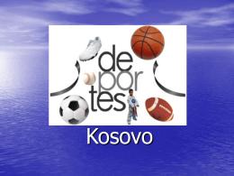 Deportes de Kosovo