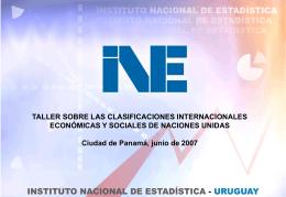 Clasificador de ocupaciones en Uruguay