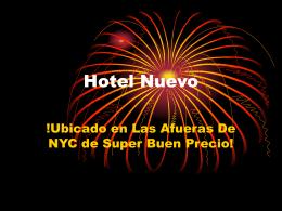 Hotel Nuevo - Pamtours Global