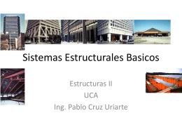 Sistemas Estructurales Basicos