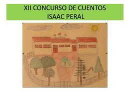 XII CONCURSO DE CUENTOS ISAAC PERAL