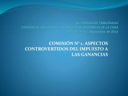 XLII JORNADAS TRIBUTARIAS COLEGIO DE GRADUADOS …