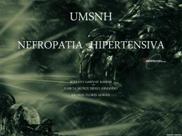 NEFROPATIA HIPERTENSIVA