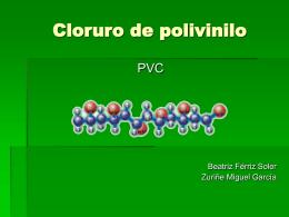 Cloruro de polivinilo - Universidad de Alicante