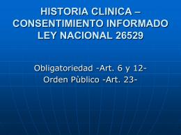 Aspectos Legales de la Emergencia Medica