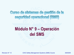 ICAO SMS Module 09