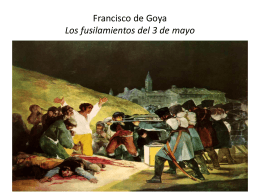Francisco de Goya Los fusilamientos del 3 de mayo
