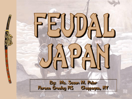 Feudal Japan - Powerpoint Palooza