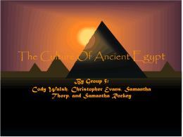 PowerPoint Presentation - The Culture Of Ancient Egypt