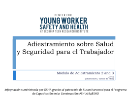 Young Worker Injuries and Illnesses