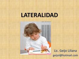 Proceso de Desarrollo de la Lateralidad: 3 Fases