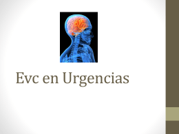 Evc en Urgencias