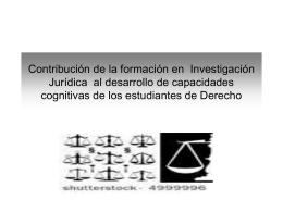 Diapositiva 1 - Facultad de Derecho