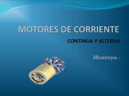 MOTORES DE CORRIENTE