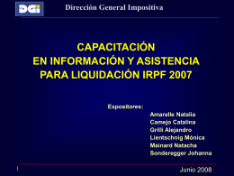 IMPUESTO AL VALOR AGREGADO (IVA)