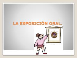 CONDICIONES DE UN EXPOSITOR