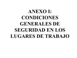 1 - CONDICIONES GENERALES DE LOS CENTROS DE …