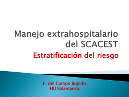 Manejo extrahospitalario del SCAEST
