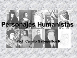 El Humanismo - Historiaboston