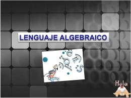 La Lengua del Algebra