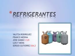 REFRIGERANTES - jdazamontero