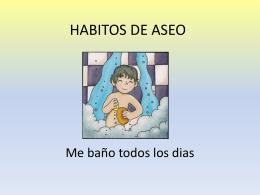 HABITOS DE ASEO