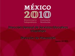 DIRECCION DE PLANEACION - sector-8-smt