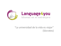 Razones para elegir Language4you