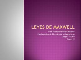 Leyes de Maxwell - em2011