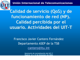 ITU-T products and services