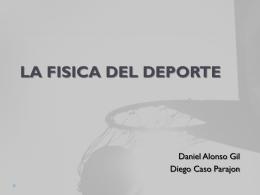 LA FISICA DEL DEPORTE - Computacion1