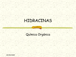 HIDRACINAS