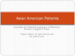 Asian Patients
