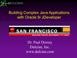 Oracle 9i JDeveloper - What's Hot? What's Not?