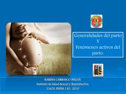 Generalidades del Parto.
