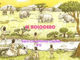 EL HOLOCENO - BioGeoAlarcos