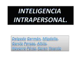 Diapositiva 1 - InteligenciasM