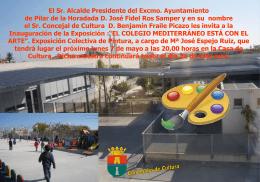 Diapositiva 1 - Pilar de la Horadada | Bienvenido