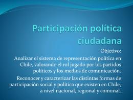 Unidad II: Ser ciudadano en Chile