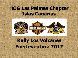 HOG Las Palmas Chapter Islas Canarias