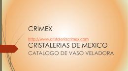 CRMEX CRISTALERIAS DE MEXICO