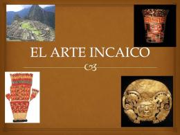 EL ARTE INCAICO - profbetzabesevedon