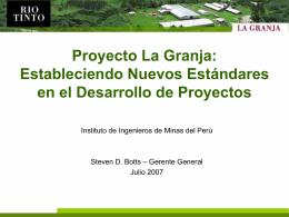 La Granja Project