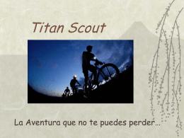 Titan Scout - Scouts Ecuador