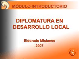 Desarrollo Local como Estrategia