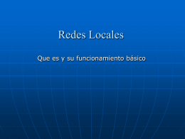 Configuracion de una Red Local