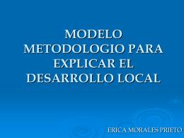 MODELO METODOLOGIO PARA EXPLICAR EL …