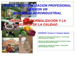 CURSO DE ACTUALIZACION PROFESIONAL IV MODULO …