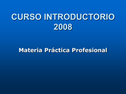 DEPARTAMENTO DE PRACTICA PROFESIONAL