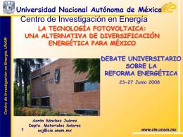 Diapositiva 1 - IER-UNAM